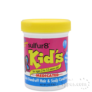 Sulfur8 Kids Anti-Dandruff Hair & Scalp Conditioner 4oz
