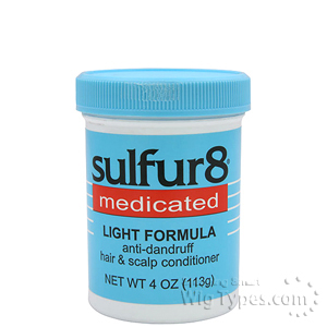 Sulfur8 Medicated Light Formula Anti-Dandruff Hair & Scalp Conditioner 4oz