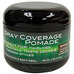 Swing It Gray Coverage Pomade Brown 4oz