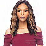 Awesome T Lace Human Hair Blend HD Lace Front Wig - HBTL ALEXA