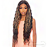 Awesome T Lace Human Hair Blend HD Lace Front Wig - HBTL PARIS 30
