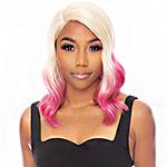 Awesome T Lace Human Hair Blend HD Lace Front Wig - HBTL SUZY