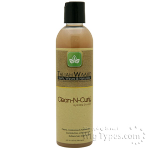Taliah Waajid Clean-N-Curly Hydrating Shampoo 8oz