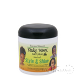 Taliah Waajid Kinky Wavy Natural Herbal Style & Shine 6oz