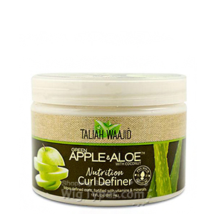 Taliah Waajid Green Apple & Aloe Nutrition Curl Definer 12oz