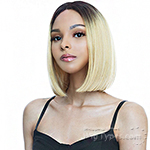The Wig Human Hair Blend Lace Part Wig - HPL TRINA