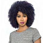 The Wig Brazilian Human Hair Blend Wig - HH AFRO JERRY