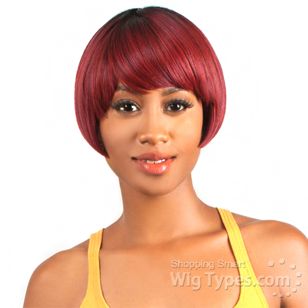 Blended Hair Wigs The Wig Brazilian Human Hair