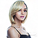 The Wig Human Hair Blend Lace Part Wig - HPL LADIA