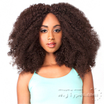 The Wig Brazilian Human Hair Blend Lace Front Wig - LH AFRO KINKY
