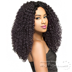 The Wig Brazilian Human Hair Blend Lace Front Wig - LH DOMINICAN