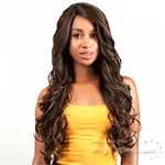 The Wig Brazilian Human Hair Blend Lace Front Wig - LH MAXIM