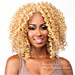 The Wig Brazilian Human Hair Blend Lace Front Wig - HH OPRAH
