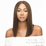 The Wig Brazilian Human Hair Blend Lace Front Wig - LH VOVO