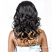The Wig Brazilian Human Hair Blend Lace Front Wig - HH YURA