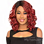 The Wig Brazilian Human Hair Blend Lace Front Wig - LH KAHI