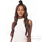 The Wig Human Hair Blend Moon Part Lace Front Wig - LH MOON PART 02