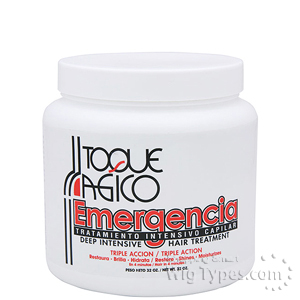 Toque Magico Emergencia Deep Intensive Hair Treatment 32oz