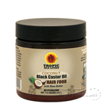 Tropic Isle Living Jamaican Coconut Black Castor Oil Hair Food 4oz