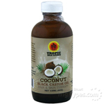 Tropic Isle Living Coconut Black Castor Oil 4oz