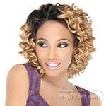 Outre Purple Pack Human Hair Blend Weaving - TWIN DEEP 3 PCS