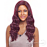 Vanessa Human Hair Blend Swissilk C Part Lace Front Wig - TWRCHB NELIZ