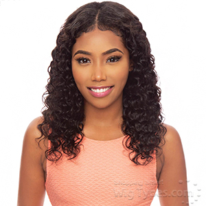 Awesome Slim U-Part 100% Brazilian Virgin Remy Hair Wig - SLIM U PASSION DEEP 18