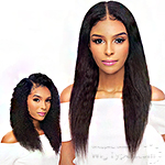 Awesome Slim U-Part 100% Brazilian Virgin Remy Hair Wig - SLIM U W&W JERRY CURL 22