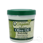 Ultimate Organics Extra Virgin Olive Oil Body Whip Moisturizing Cream 15oz