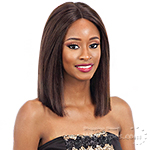 Naked 100% Brazilian Natural Hair Deep Invisible Part Lace Front Wig - BRIGIT
