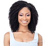 Naked 100% Brazilian Natural Human Hair Clip In Extension - COIL CURL 14 (9pcs)