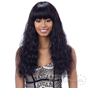 Naked 100% Brazilian Natural Hair Wig - ELLIANA
