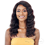 Naked 100% Brazilian Natural Human Hair Lace Front Wig - LENNIE