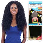 100% Unprocessed Brazilian Virgin Remy Hair - NAKED NATURE WET & WAVY BEACH CURL 7PCS (18/18/20/20/22/22 + Silk Base Closure)