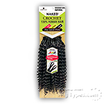 Naked 100% Human Hair Crochet Braid - PRE LOOP TYPE BOHEMIAN CURL