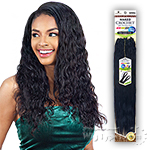 Naked 100% Human Hair Wet & Wavy Crochet  Braid - PRE LOOP TYPE LOOSE DEEP