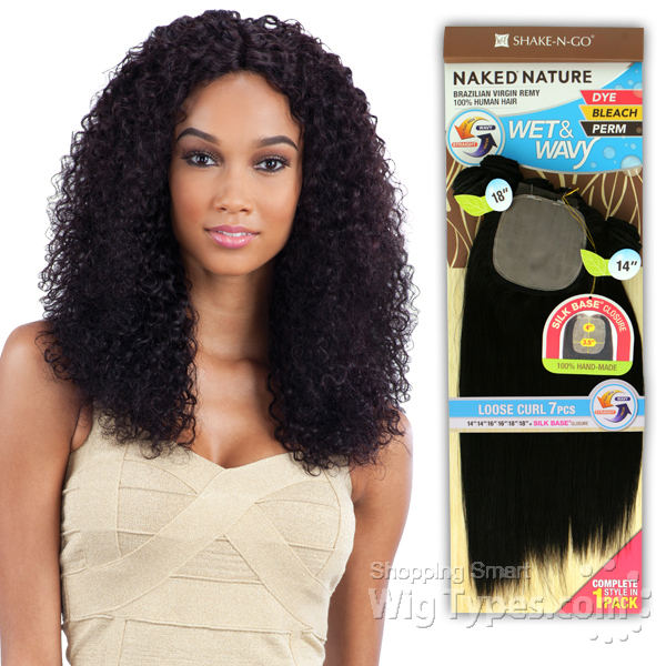 100 Unprocessed Brazilian Virgin Remy Hair Naked Nature Wet
