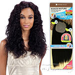 100% Unprocessed Brazilian Virgin Remy Hair - NAKED NATURE WET & WAVY LOOSE CURL 7PCS (14/14/16/16/18/18 + Silk Base Closure)