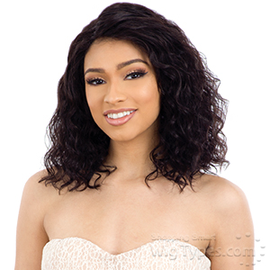 Naked 100% Brazilian Natural Hair 5 inch Part Frontal Lace Wig - NATURAL 302