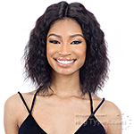 Naked 100% Brazilian Natural Human Hair Lace Front Wig - BONA