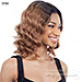Naked 100% Brazilian Natural Human Hair Lace Front Wig - DELILAH