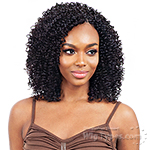 Naked 100% Human Hair Crochet Braid - PRE LOOP TYPE WATER CURL 14