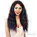 Naked 100% Brazilian Natural Hair Lace Front Wig - WET & WAVY LOOSE DEEP