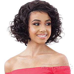 Model Model Nude 100% Brazilian Natural Human Hair Lace Part Wig - ARIANNA