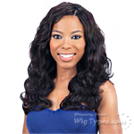 Model Model Nude Leaf 100% Unprocessed Brazilian Virgin Remy Hair Weave - BODY WAVE 7PCS (10/10/12/12/14/14 + Closure)