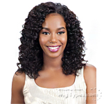 Model Model Nude Leaf 100% Unprocessed Brazilian Virgin Remy Hair Weave - DEEP WAVE 7PCS (10/10/12/12/14/14 + Closure)