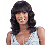 Model Model Nude 100% Unprocessed Brazilian Virgin Remy Human Hair Wig - LOOSE DEEP 16