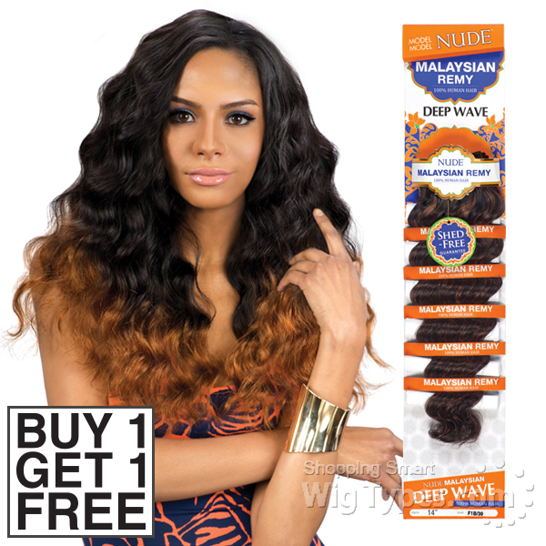 Model Model 100 Remy Hair Weave Nude Malaysian Deep Wave Buy 1