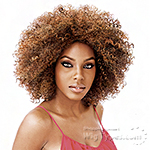 Vanessa Express Weave Synthetic Hair Half Wig - LA JAY