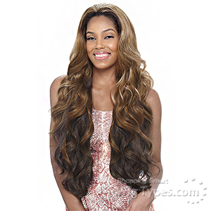 Vanessa Express Weave Synthetic Hair Half Wig - LAS BAMBY